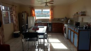 Kitchen two bed seaview